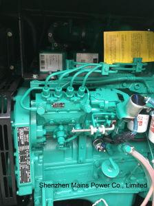 45kVA 36KW de potência de espera da Cummins Canópia super silencioso gerador diesel