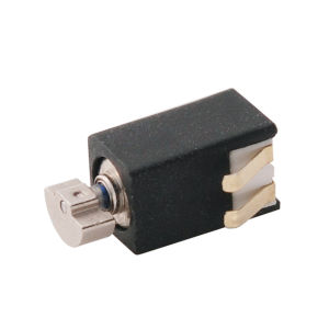 El cilindro tipo DC Motor eléctrico con corriente bajo la metralla