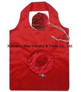 Regalos plegable Bolsa de compras Flores Rosa de estilo, reutilizables, ligero, bolsas de comestibles y práctico, Accesorios y decoración, la promoción, Tote Bag