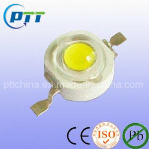 1W Blanco frío LED de alta potencia, 6000-7000K, 120-130lm, 140-160lm, LM80