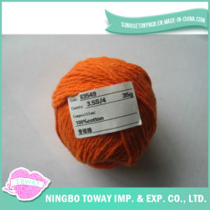 100% algodão Cross Stitch Lã Tricotar luvas de rosca