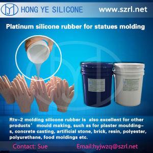Het vloeibare Rubber van het Silicone voor het Maken van Prothesis