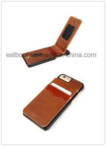 Caja del teléfono del cuero con la ranura para tarjeta para iPhone6s / 6p / 7s / 7p
