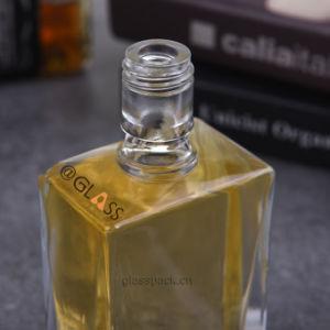Flacon en verre clair pour bouteille d'huile/d'olive Liqueurs