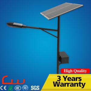 High Power LED Solar integrada de la luz de la calle con la pole