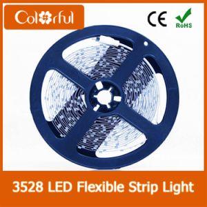 Indicatore luminoso di striscia flessibile caldo di vendita DC12V SMD3528 LED