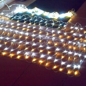 妖精党Xmasの屋外のクリスマスの装飾LEDの網ライト