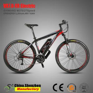 Batería de litio de 48V 350W 27,5er 27 de la Montaña de la velocidad de la rueda de bicicleta eléctrica