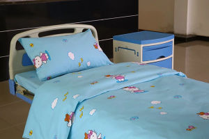 Cama Hospitalar Peadiatric puro algodão definido