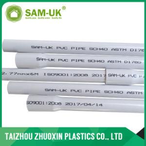 Tubo di acqua del PVC di programma 40 di ASTM D1785