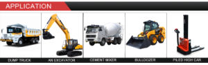 24V 3.5kw 9t Bewegungsstarter für KOMATSU S4d95 PC600-6 (600-813-3130/4410 0-23000-0060)