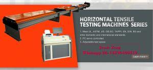Wal große Schrauben-Verbrauch-Computer-Steuerhorizontale dehnbare Prüfung/Prüfungs-Prüfvorrichtung/Instrument/Gerät/Maschine
