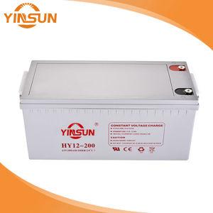 12V200AH de ciclo profundo AGM para baterías de plomo ácido inversor UPS y la energía solar