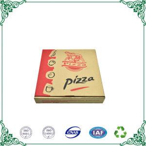 Comercio al por mayor de Kraft personalizada Pizza plegable de Cartón Ondulado cajas de embalaje para la venta