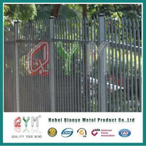 D Tipo paliçada de aço e da Barragem de Metal Gate