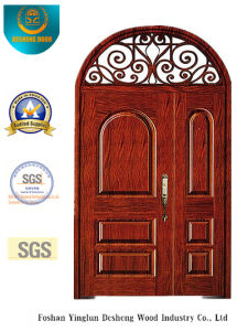 Style europeo Picture Security Door con Iron (B-9012)