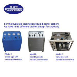 Pompa ad iniezione chimica guidata pneumatica portatile di Suncenter
