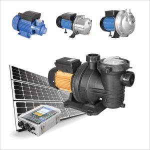 DC calme piscine solaire Pompe à eau avec l'exécution automatique