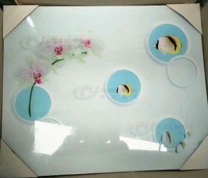 Глобальные яркий микрокристаллическая стекла цифровой струйной печати 5D УФ-принтер