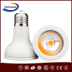 Iluminación moderna UL impermeable 120V PAR20 LED COB