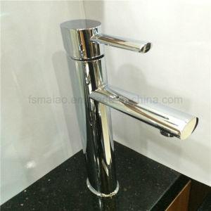 円形の真鍮のクロムSingelのレバーの洗面器のコックの衛生製品(HD4600)