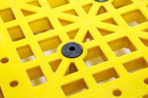 100% virgem de HDPE/PP reutilizáveis recolhível de HDPE paletes de plástico