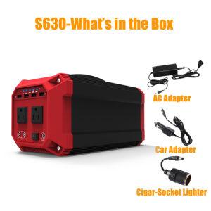 batteria di litio portatile dell'invertitore 330wh /89200mAh di potere del generatore 300W