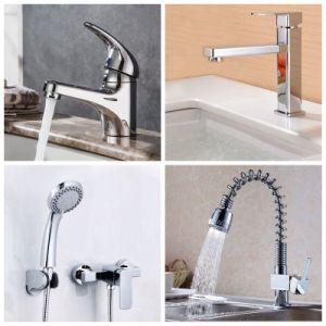 Novo Design Jooka Cachoeira Banho Lavatório de latão Misturador pia de cozinha da Bacia Hidrográfica Banheira com chuveiro de água da torneira