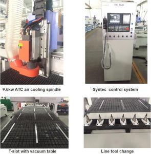 3D, das CNC-hölzernen Maschinen-ATC CNC-Fräser 1325 schnitzt