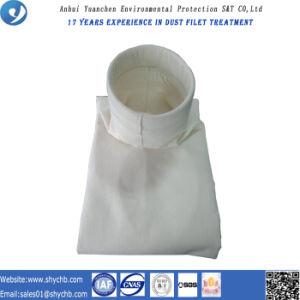 Saco de filtro da composição não tecida do PPS e do PTFE para a coleção de poeira