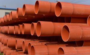 熱湯の供給のためのオレンジ50mm CPVCの管の管