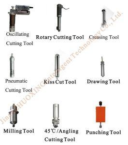 A junta de fibra Dieless automática máquina de corte do cortador de junta com marcação CE CNC preço de fábrica
