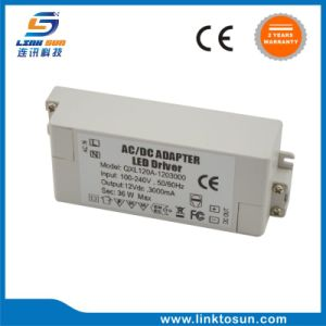 Alimentazione elettrica superiore del cv LED di 12V 3A 36W