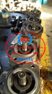 De nieuwe Pomp van het Toestel van de Lader van de Rupsband Hydraulische: 3p4002