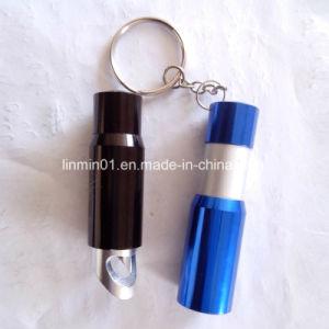 Lanterna LED 3 personalizados com porta-chaves para o presente de promoção