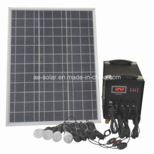Sistema eléctrico solar portable 50W