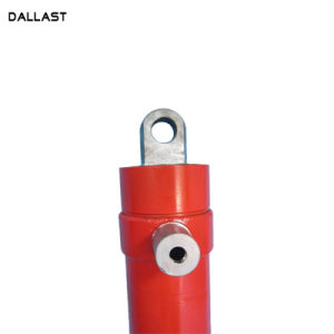 販売のための3つの段階の水圧シリンダをはめ込むダンプのトレーラーのマルチ段階