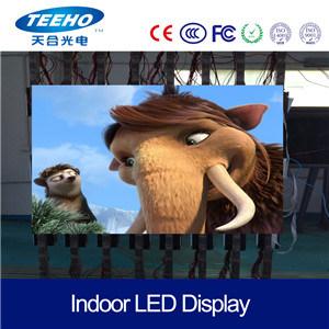 P3.91 interior em cores de tela LED