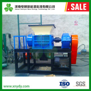Marken-Hersteller-Abfall-grosses festes Klumpen-Plastikprofil-einzelne Welle-Reißwolf-Maschine für Verkauf