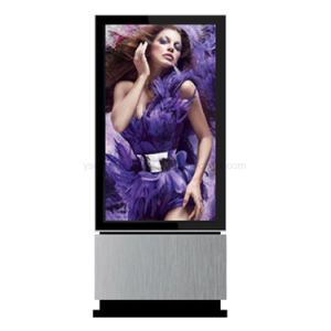 Yashi 55inch Digital Signage LCD-Bildschirmanzeige einteiliger PC Kiosk