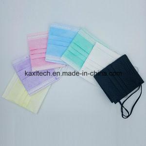 Medizinische Gesichtsmaske des Großhandelspreis-Wegwerfvliesstoff-3ply