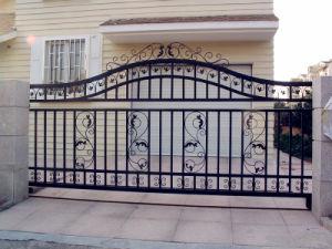 las puertas de hierro forjado para garaje, puerta de la habilidad de
