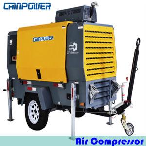 63kw Portable Air Compressor met Dieselmotor Kubota v3600-t-E3b