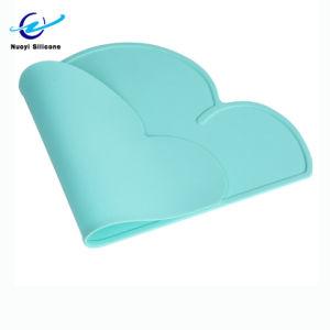 Venda a quente a forma de nuvem Placemat de silicone para crianças