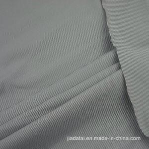 68b33dc0cad2 Tessuto lavorato a maglia stirata di bambù amichevole del carbone di legna  di Elastane del poliestere
