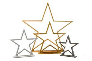 Bambu natural 90cm Cinco Estrelas candeeiro de mesa com LED de iluminação/LED/lâmpada/Luz/Madeira/móveis/Decoration