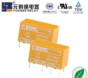 Fábrica Yuanze Venda directa de plástico do Relé do sinal de 8 Pinos