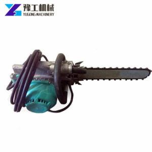 Do lado da máquina de corte ferramentas elétricas serra eléctrica de parede de concreto com a lâmina da serra