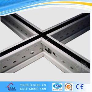 La T-Barra sospesa scanalata bianca dei Girds per il gesso Ceiling/T-Bard/Ceiling del PVC T-Gird/aereo della scanalatura