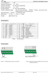 4 canaux Le protocole Modbus RS232 convertisseur RS485 avec affichage LED
